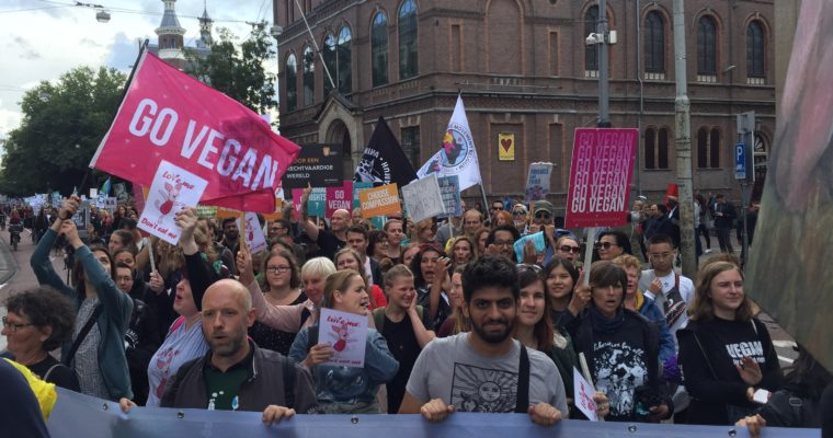 The Official Animal Rights March en Sushi voor de Soof